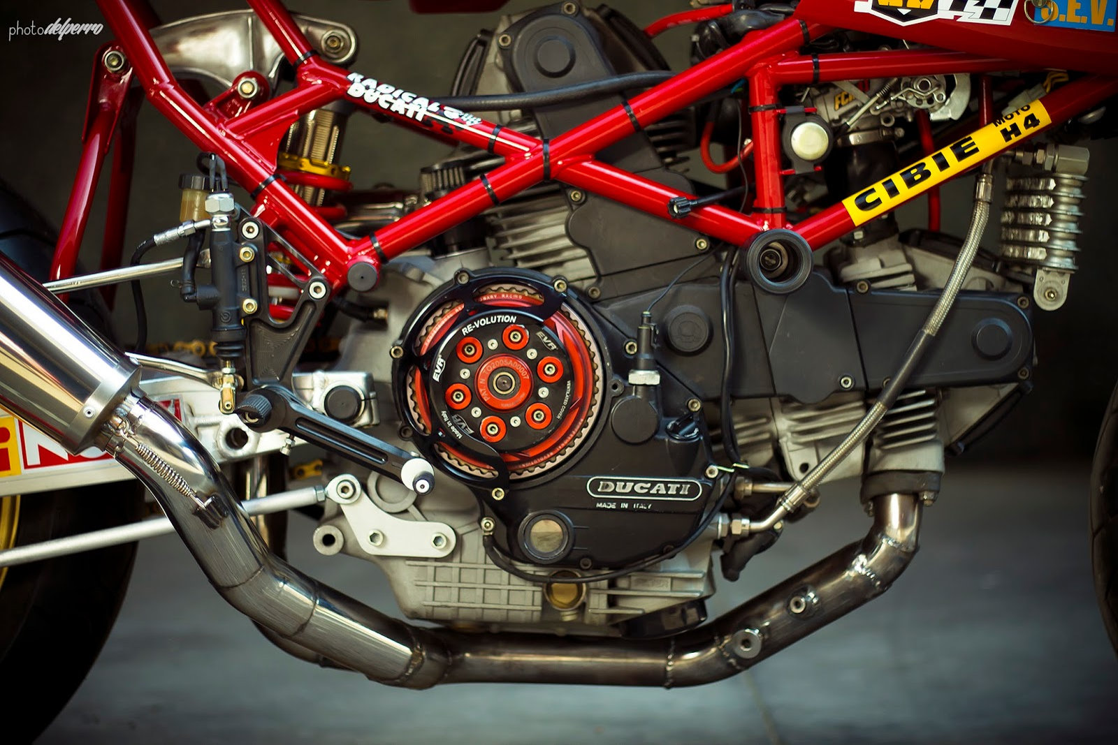 Radical Ducati (Préparations)