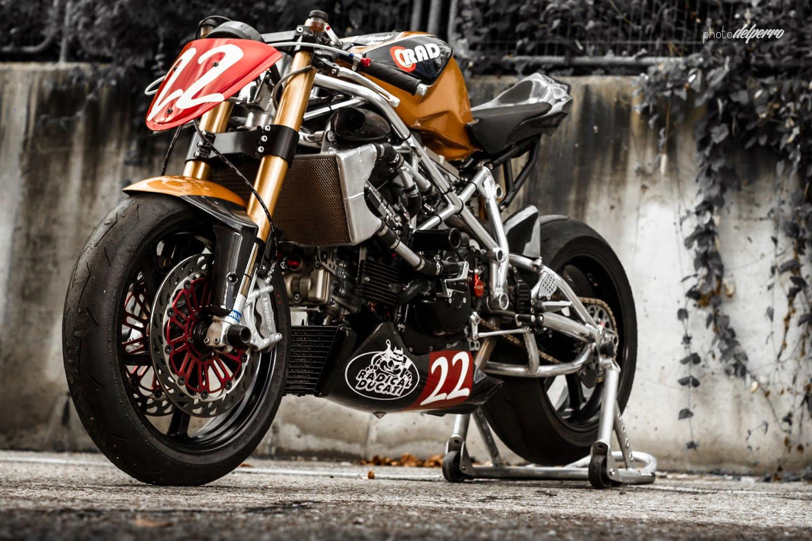 Radical Ducati (RAD02 4 soupapes)